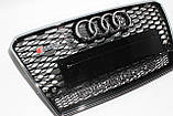 Решетка радиатора стиль RS7 для Audi A7 12-15, фото 4
