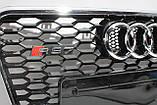Решетка радиатора стиль RS7 для Audi A7 12-15, фото 5