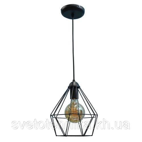 Подвесной светильник люстра Loft NL 0537,черный, Е 27