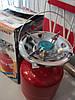 Туристический газовый баллон-пикник с горелкой объемом 5 литров Rudyy пр-во Италия, фото 2