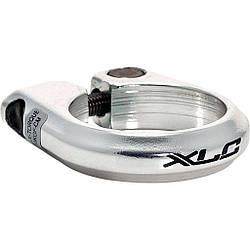 Хомут XLC PC-B01, Ø31,8мм, серебристый