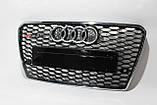 Решітка радіатора Audi A7 стиль RS7 12-15, фото 3