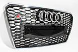Решітка радіатора Audi A7 стиль RS7 12-15, фото 2
