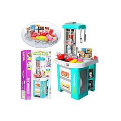 Детская музыкальная кухня с водой 49 предметов Bambi 922-48 голубая