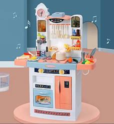 Интерактивная детская большая кухня с водой и паром высота 100 см Mega Kitchen 898/998 A