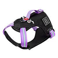 Шлея Collar Waudog Nylon (фиолетовый), XL, фото 1