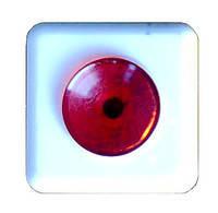 Кнопка для звонка 250 В (неон) на «микрике»,с подсветкой