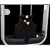 Голень стоя PowerStream Virgin профессиональный тренажер для дома и спортзала грузовой стек 91 кг., фото 3