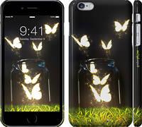 "Чехол на iPhone 6s Plus Светящиеся бабочки ""2983c-91"""
