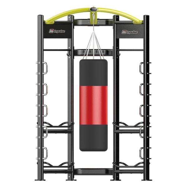 Станция для бокса Impulse Zone тренировочный модуль для занятий боксом для дома и спортзала