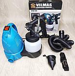 Електричний Краскопульт VILMAS 650-SG-300 водоемульсійною фарби, фото 7