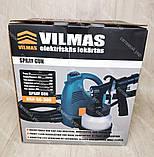 Електричний Краскопульт VILMAS 650-SG-300 водоемульсійною фарби, фото 3
