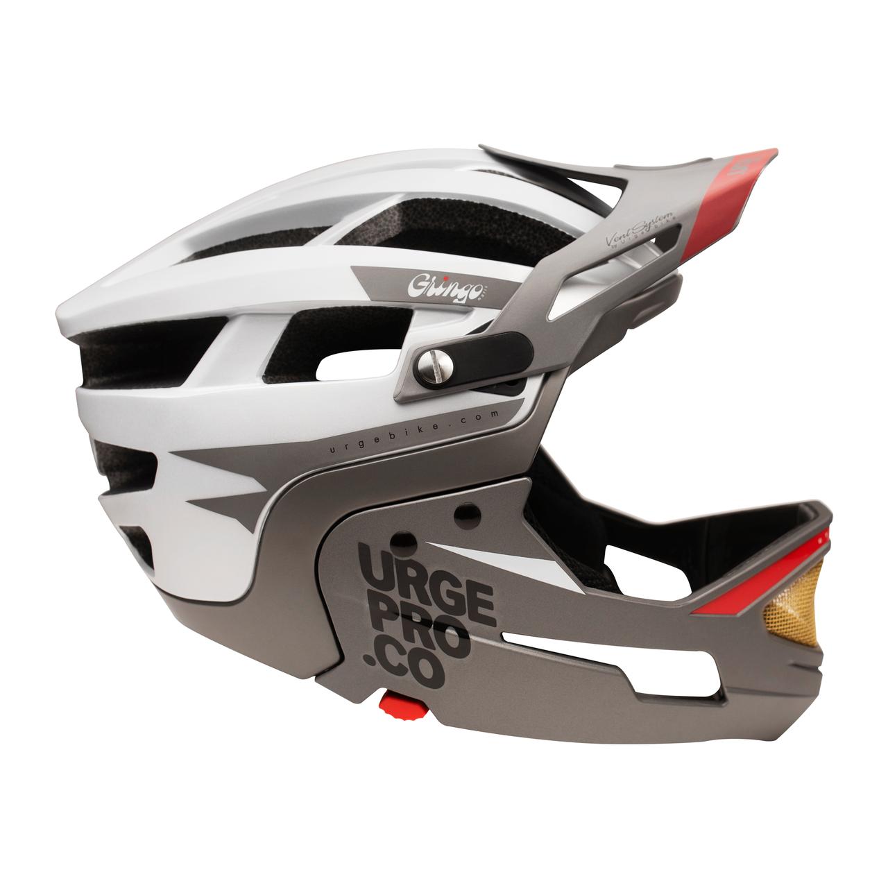 Шлем Urge Gringo de la Sierra серый S/M, 55-58 см