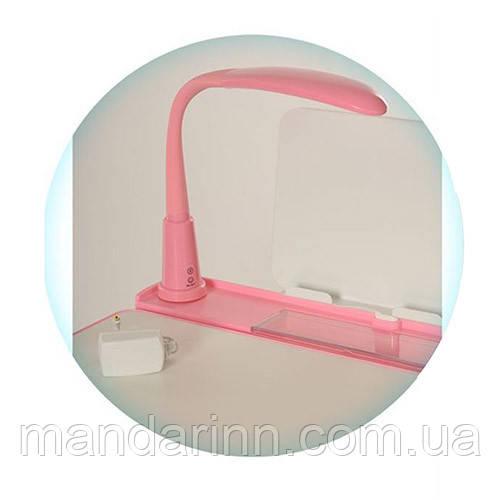 Светодиодная лампа для детской парты, LED LAMP-8 Розовая