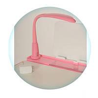 Светодиодная лампа для детской парты, LED LAMP-8 Розовая, фото 1