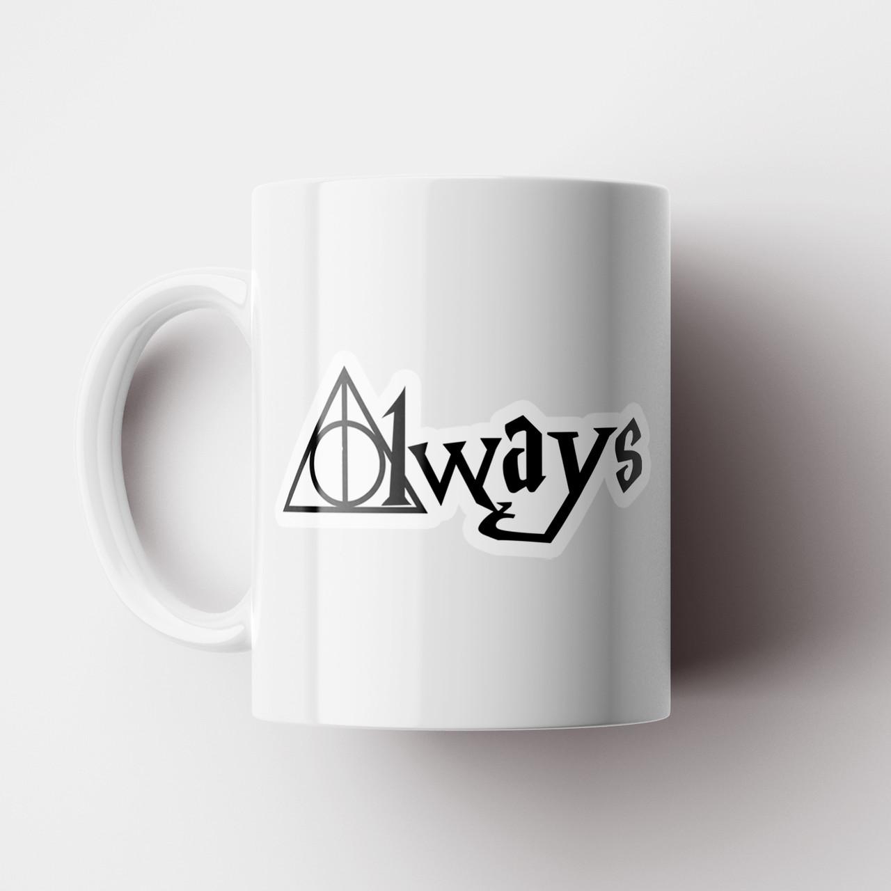 Чашка Гарри Поттер Always. Harry Potter art. Чашка с фото