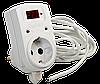 Регулятор температуры ТР-1 (одноканальный,  датчик DS18B20) установка в розетку