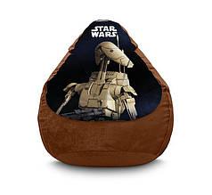 "Кресло мешок ""Star Wars. Battle Droid"" Флок"