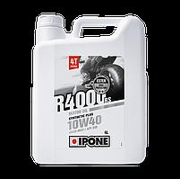 Моторное масло IPONE R4000 RS 10W40 (4л) для мотоциклов. JASO MA-2, API SM