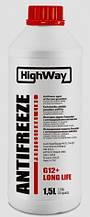 Антифриз HighWay G12+ (концентрат) 1,5л