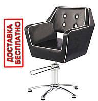 Кресло парикмахерское на гидравлике Польша для клиента салона красоты Askold