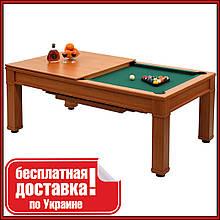 Більярдний стіл для пулу з кришкою і крамницею Remo 7 футів 214.5 121.5 x x 82 cm з МДФ