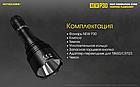 Тактический дальнобойный фонарь NITECORE P30 1000LM оригинал, фото 8