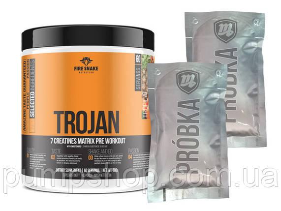 Креатиновая смесь FireSnake Nutrition Trojan (7 паков) 300 г, фото 2