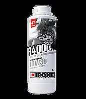 Моторное масло IPONE R4000 RS 10W30 (1л) для мотоциклов. JASO MA-2, API SM