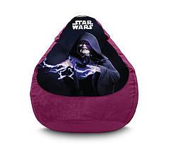 "Кресло мешок ""Star Wars. Darth Sidious"" Флок"