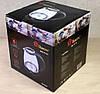 Электрочайник Стеклянный с LED Подсветкой Чёрный Чайник Электрический (ВидеоОбзор), фото 6