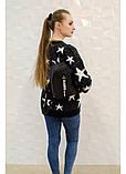 Модный женский черный маленький городской, повседневный рюкзак матовая эко-кожа, фото 7