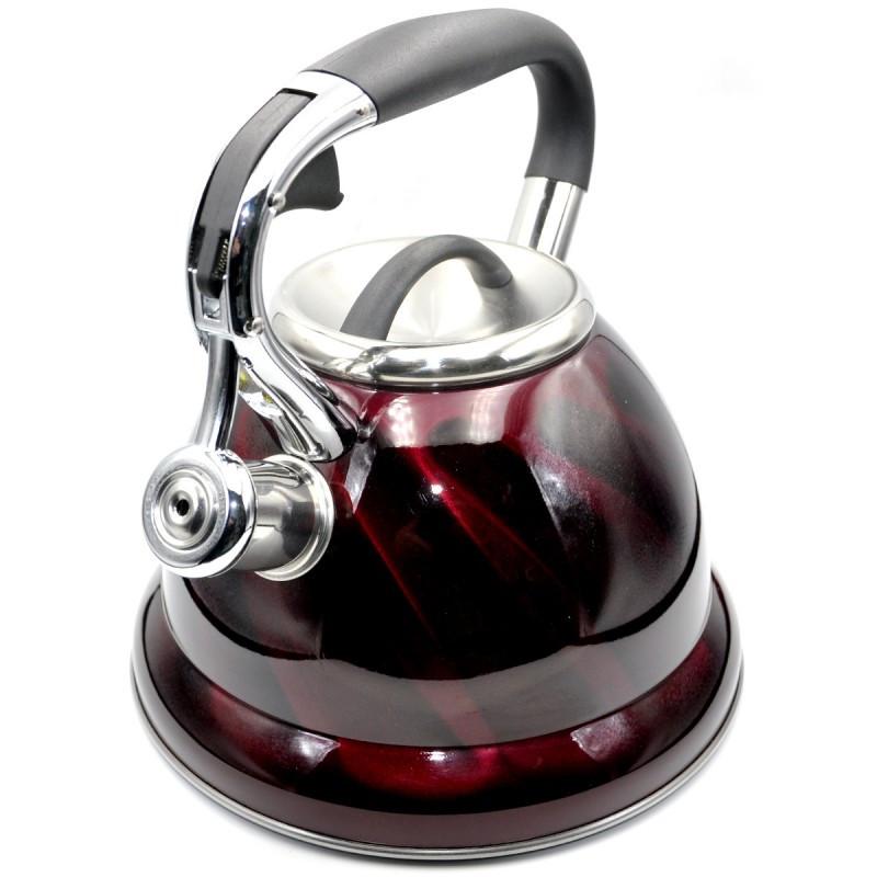 Чайник из нержавеющей стали со свистком на 3,2 литра VICALINA VL-0034