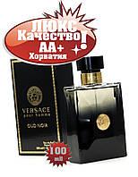 Versace Pour Homme OUD NOIR  Хорватия Люкс качество АА+++ Версаче Пур Хом Оуд Нуар реплика, фото 1