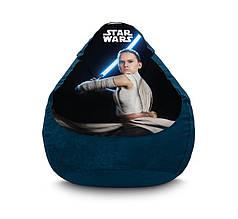 """Кресло мешок """"Star Wars. Rey"""" Флок"""