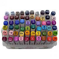 Набор скетч-маркеров 60 шт. для рисования двусторонних Aihao sketchmarker