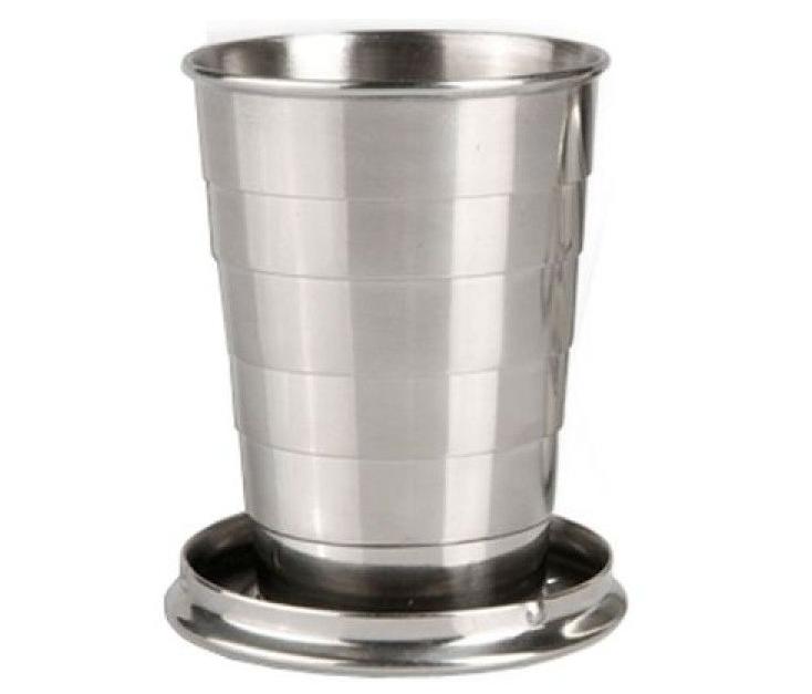 Складной стакан Tramp TRC-068 110 мл Steel