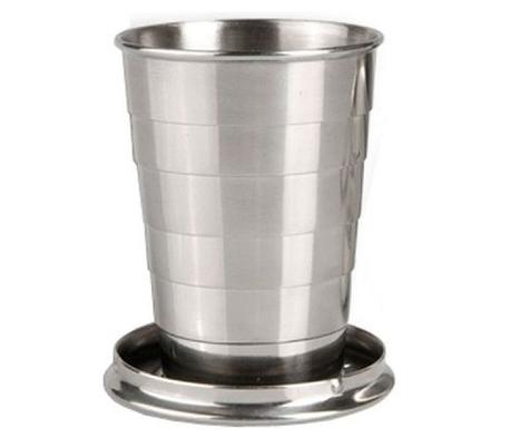 Складной стакан Tramp TRC-068 110 мл Steel, фото 2