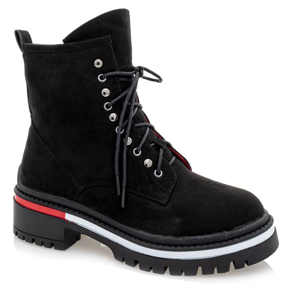 Ботинки зимние для девочек Loretta 38  чёрные 981236