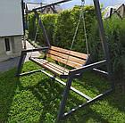 Качеля 4-х месная Большая Садовая/Парковая, фото 2