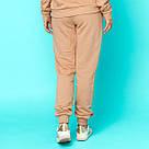 Штани жіночі трехнитка на манжетах. Мерехтливої кольору, фото 4