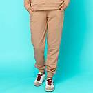 Штани жіночі трехнитка на манжетах. Мерехтливої кольору, фото 3