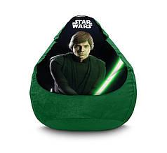 "Кресло мешок ""Star Wars. Luke Skywalker"" Флок"