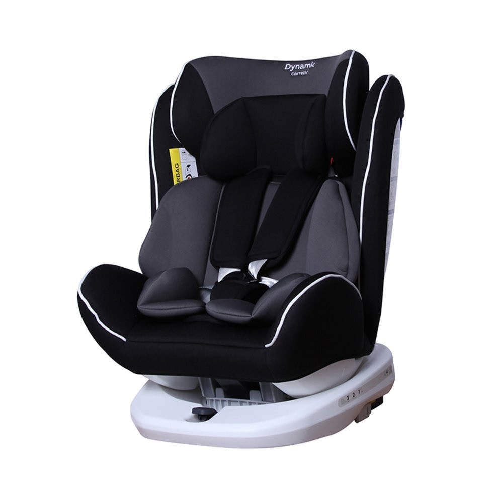 Автокресло детское с поворотом CARRELLO Dynamic CRL-13802 Carbon Grey ISOFIX
