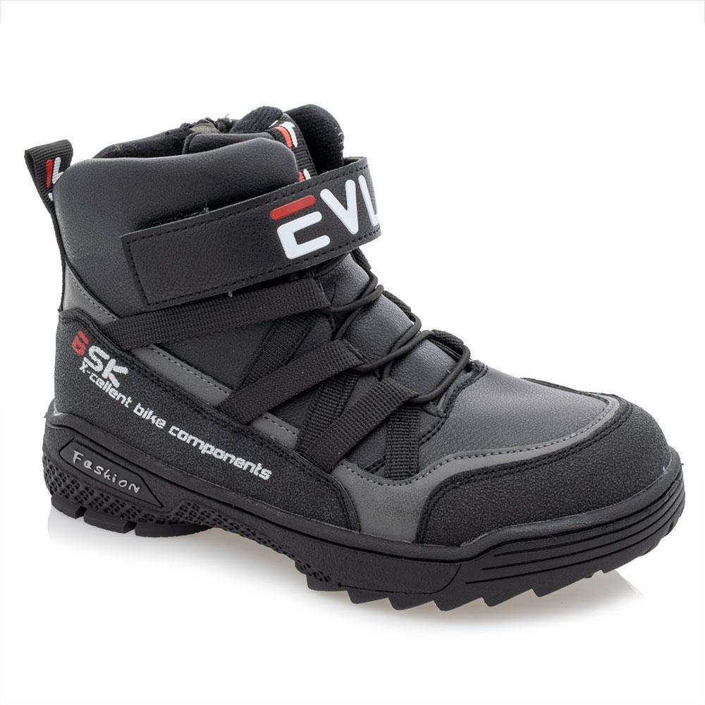 Ботинки для мальчиков Bessky 32  чёрные 981243