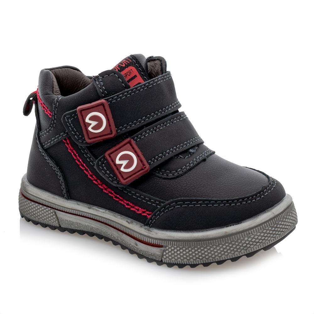 Ботинки для мальчиков Bessky 23  чёрные 981244