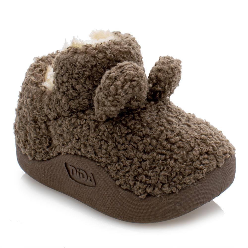 Ботинки зимние для мальчиков Bessky 21  коричневые 981245