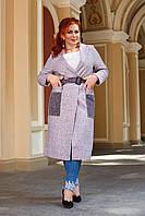 Стильное женское пальто (норма и батал)
