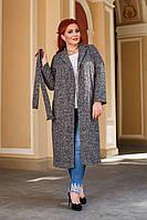 Модное демисезонное женское пальто (норма и батал)