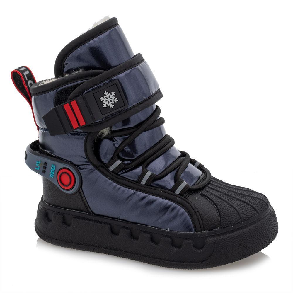 Ботинки зимние для мальчиков Bessky 28  синие 981246